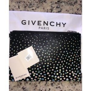 Limited edition GIVENCHY floral clutch